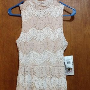 NWT Honey and Rosie Lace Dress